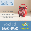 Salbris : modification des périodes de distribution